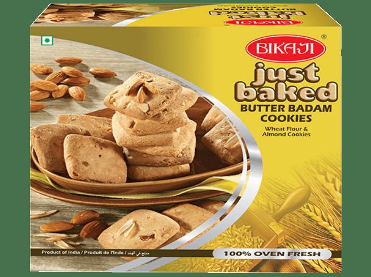 Bikaji Butter Badam Cookies, Buy Online