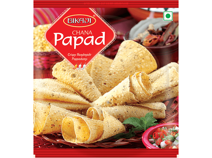Buy Chana Papad, Bikaji Papad Online