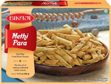 Methi Para, Bikaji Snacks