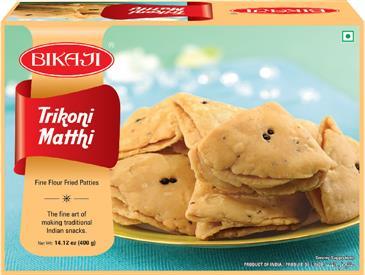 Trikoni Matthi, BIkaji Snacks, Namkeens